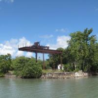 Site portuaire abandonné