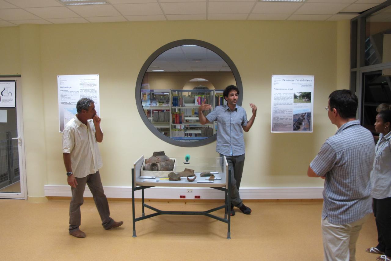 Journées Européennes du Patrimoine 2012 BU Camp Jacob